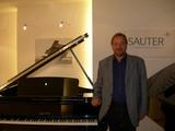 ザウターピアノの納品に行った。