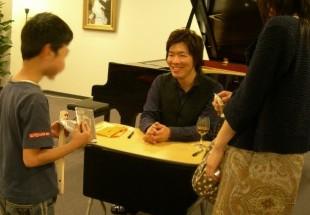 2010年5月22日 創業感謝祭4周年 川島基ピアノリサイタル