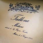 タローネの調律に行った。