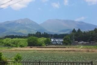雄大な浅間山