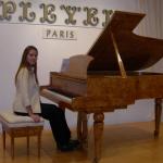 プレイエル ピアノ展示1