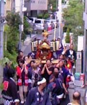 地蔵通りはお祭りだった。