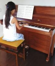 ベヒシュタインの調律に行った。小さなピアニスト シリーズ10