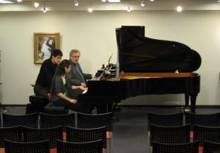 2008年1月9日 国際的ピアニストの世界を真近に!公開レッスン