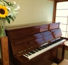 ベヒシュタイン クラシック118の納入調律に行った。