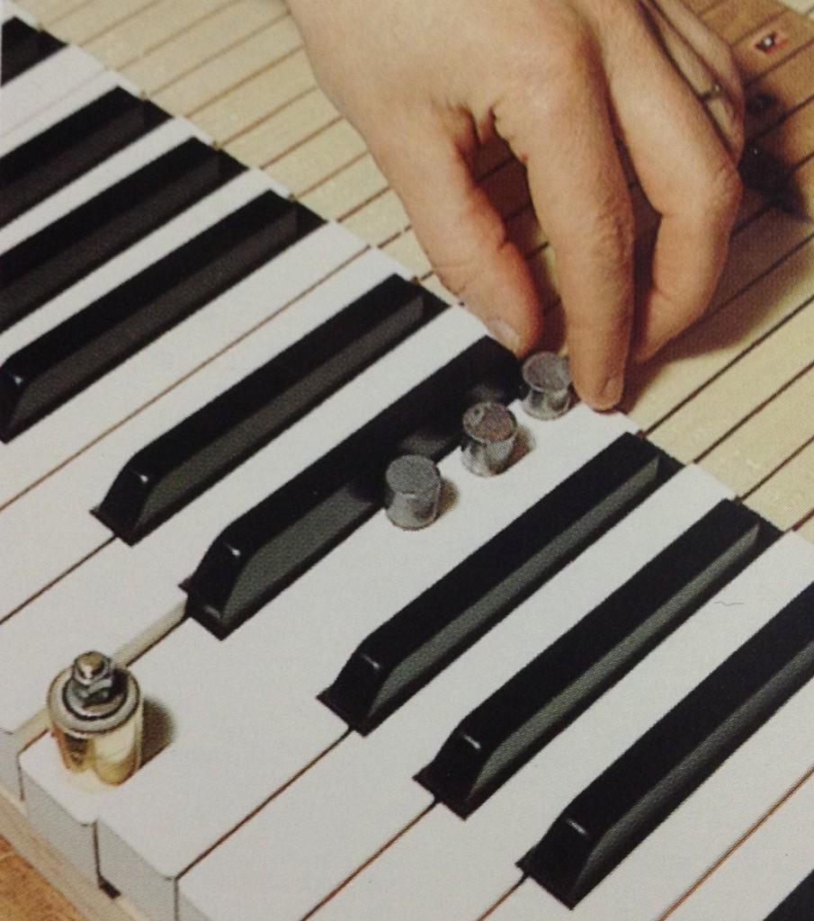 鍵盤タッチ調整