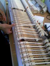 ピアノのハンマーはフェルトなのだ!!
