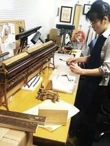 「神田川右岸のピアノ工房」では…。