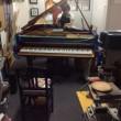 神田川右岸のピアノ工房では…。ピアノパッサージュ