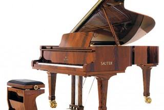 ■輸入アップライトピアノ 艶出し艶消し 音色の違い -2