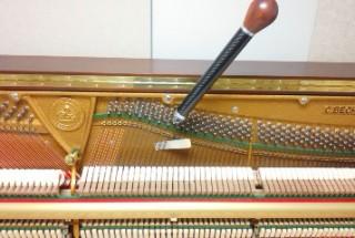 その後のお付き合い 6年目のベヒシュタイン クラシック118 輸入ピアノ BECHSTEIN