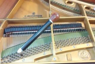 その後のお付き合い 1975年製 ベヒシュタインL 購入後6年 輸入ピアノ BECHSTEIN