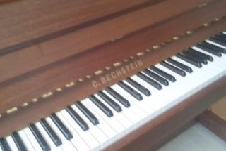 その後のお付き合い ベヒシュタイン クラシック118 輸入ピアノ BECHSTEIN