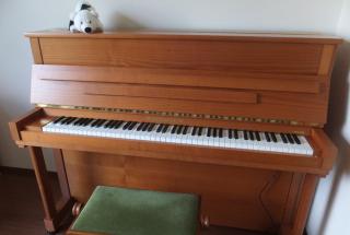 ベヒシュタイン クラシック118の納品に行った。 輸入ピアノ BECHSTEIN