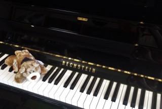ベヒシュタイン B112の納品に行った。 輸入ピアノ BECHSTEIN