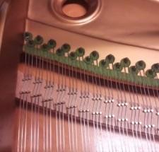 輸入ピアノ 特徴と違い -2 新旧ベヒシュタイン(高音部バックレングス編)