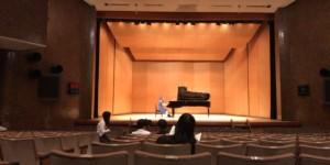 東京六大学ピアノ連盟のフレッシュコンサートの調律に行きました。