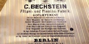 20世紀初頭のベヒシュタイン&スタインウェイ その2 響板デカール