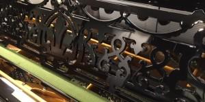 20世紀初頭のベヒシュタイン&スタインウェイ その3 譜面台と燭台