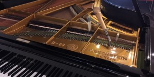 「岩渕純 ピアノコンサート」 2018.8.4 に向けて調律中!