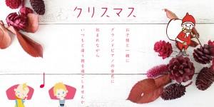 奏音の小箱 ホフマン Made by C.BECHSTEIN モーニングピアノコンサート クリスマス 2018.12.10 12.15