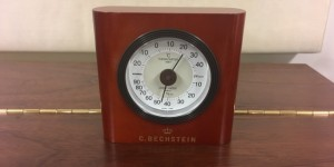 ベヒシュタイン 温度湿度計 入荷しました。