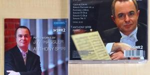 先日サロンご利用いただいた、アントニー・シピリ先生からCD頂きました。