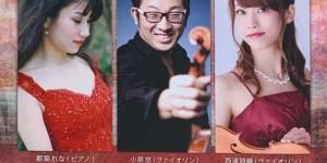 音降りそそぐ武蔵ホール 2 Violins & Piano 名曲コンサート 2020.1.11