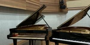 音降りそそぐ武蔵ホール ベヒシュタインD280メンテナンスに行った。