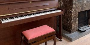 ベヒシュタイン  クラシック118 の納品に行きました。